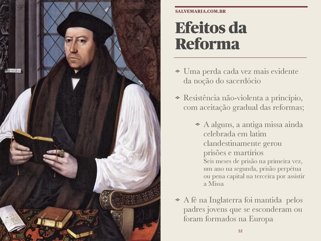 Efeitos da Reforma Uma perda cada vez mais evid...
