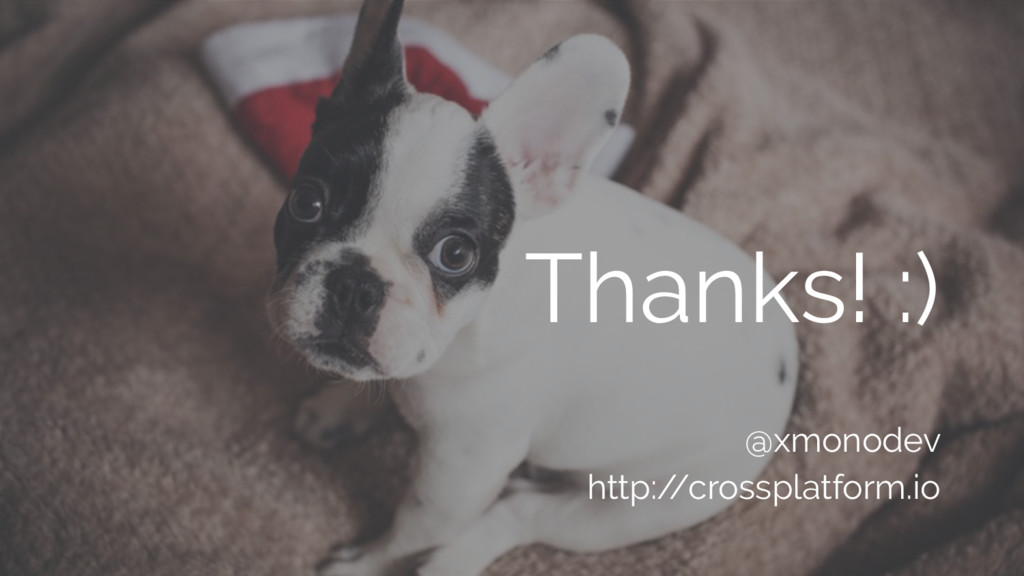 @xmonodev http:/ /crossplatform.io Thanks! :)