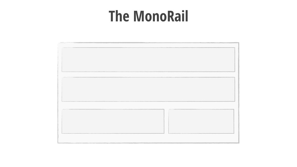 13 The MonoRail