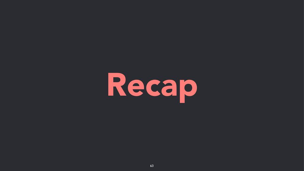 Recap 63