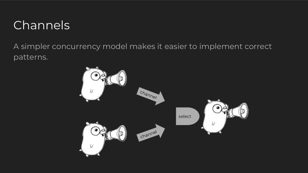 A simpler concurrency model makes it easier to ...