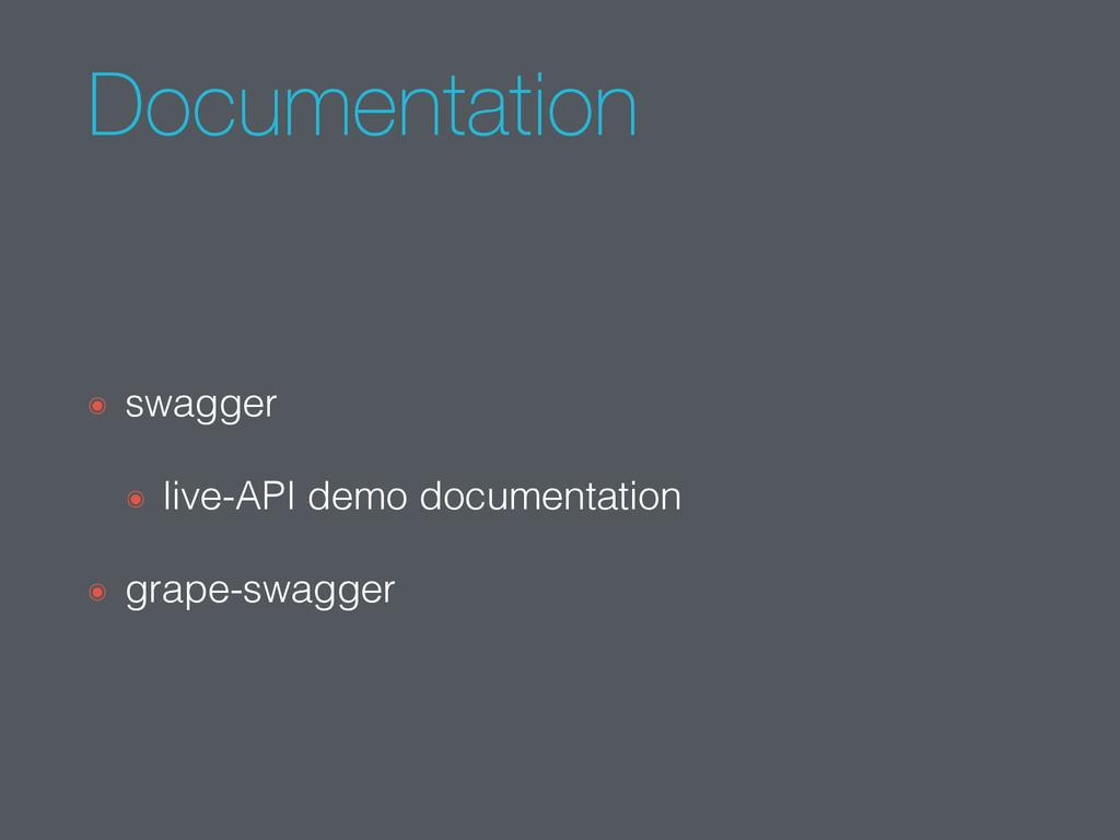 Documentation ๏ swagger ๏ live-API demo documen...