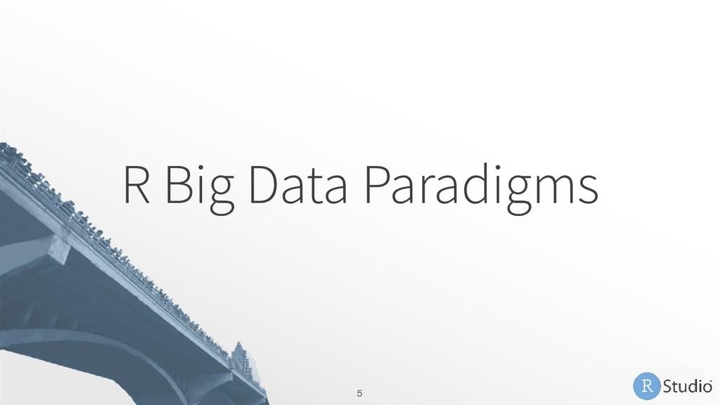 R Big Data Paradigms 5