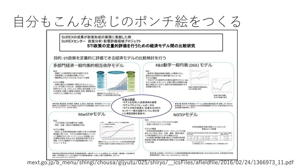 自分もこんな感じのポンチ絵をつくる mext.go.jp/b_menu/shingi/chou...