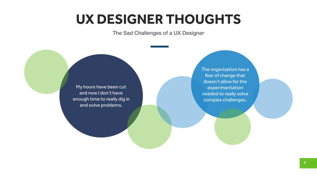 UX DESIGNER THOUGHTS 4 The Sad Challenges of a ...