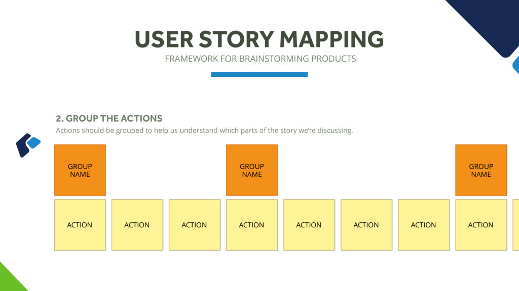 FRAMEWORK FOR BRAINSTORMING PRODUCTS USER STORY...