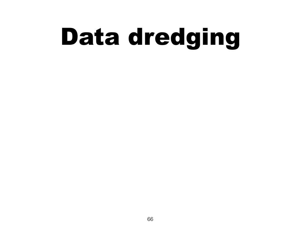 Data dredging 66