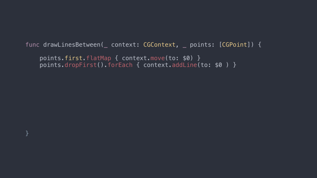 func drawLinesBetween(_ context: CGContext, _ p...