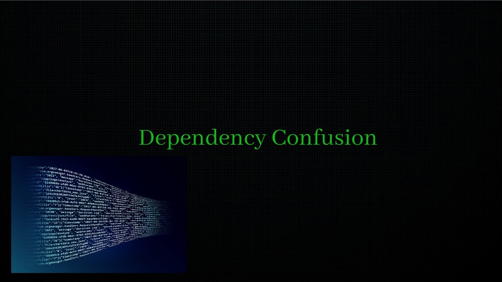 Dependency Confusion