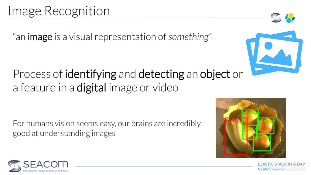 """Image Recognition """"an image is a visual represe..."""