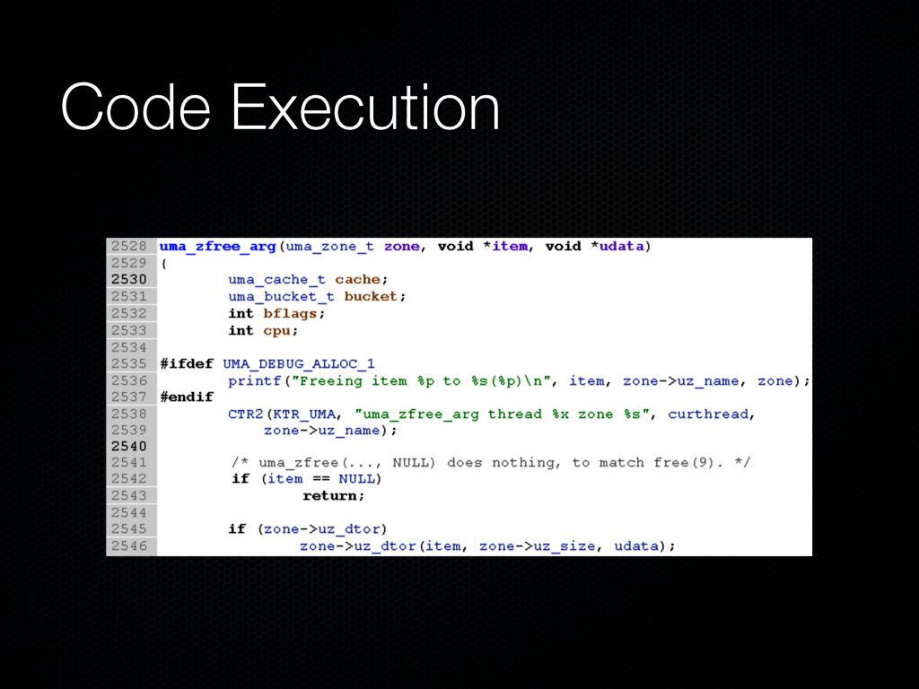Code Execution