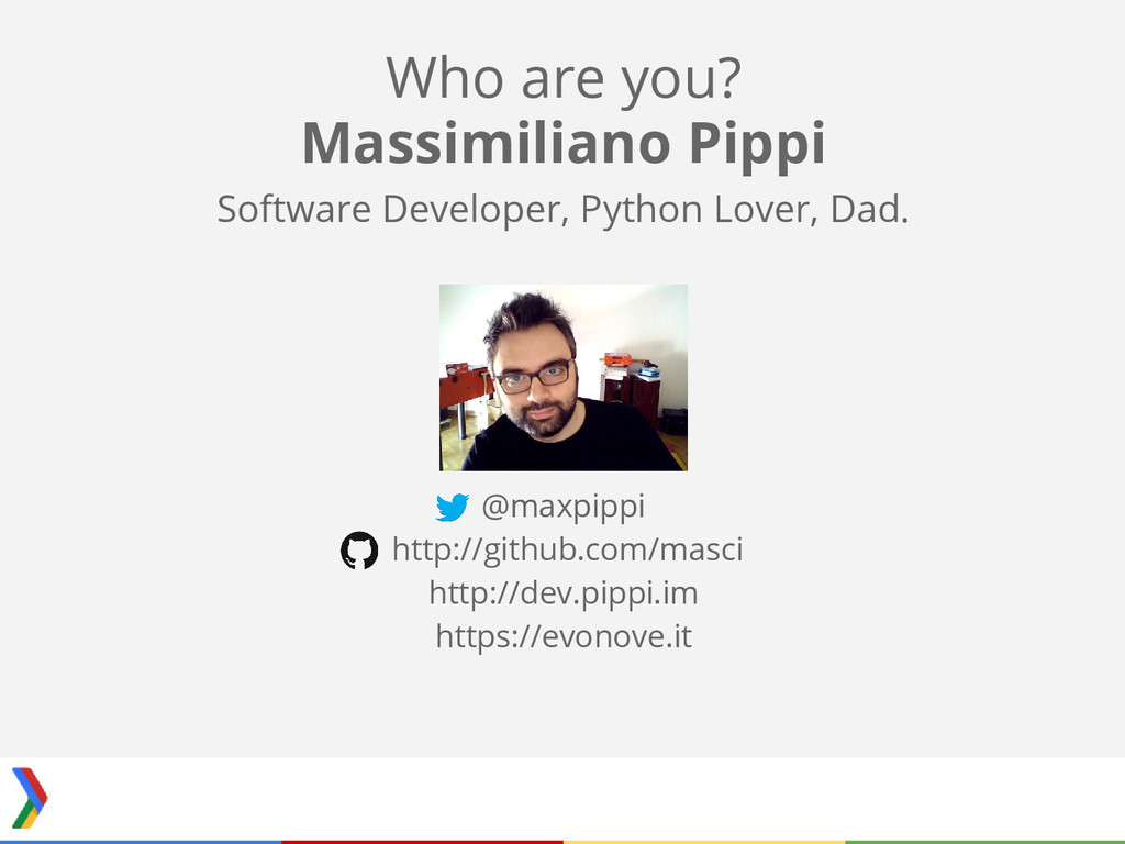 Massimiliano Pippi Software Developer, Python L...