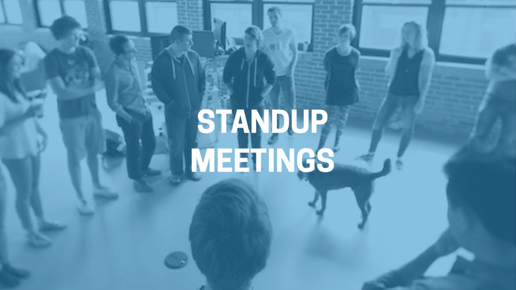 STANDUP MEETINGS