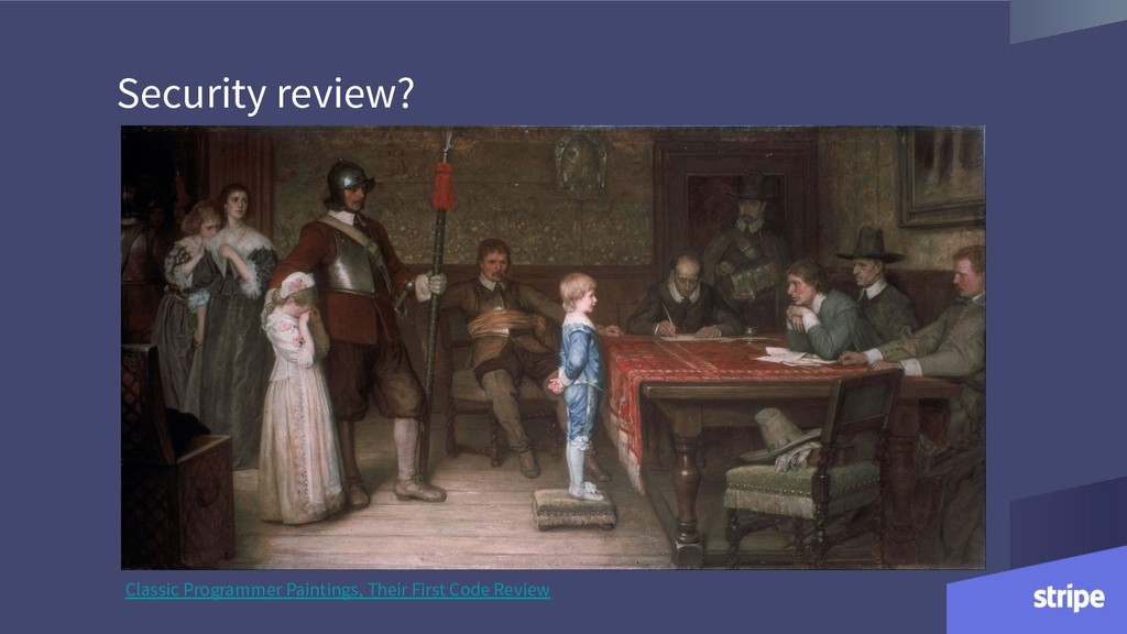 Security review? Classic Programmer Paintings, ...