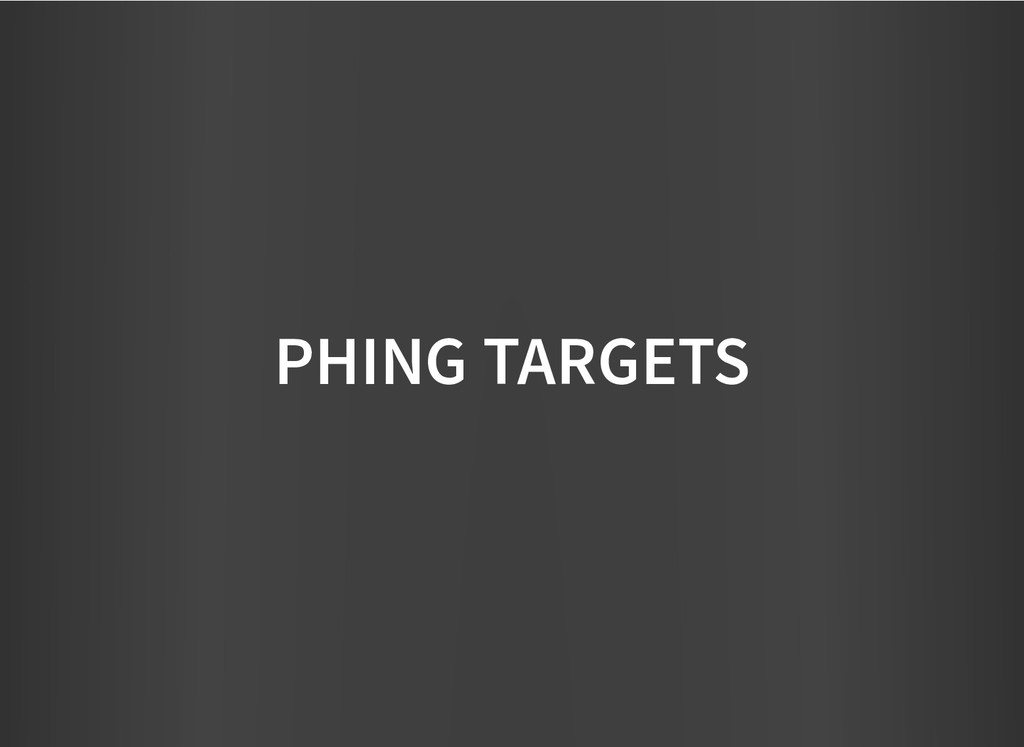 PHING TARGETS PHING TARGETS