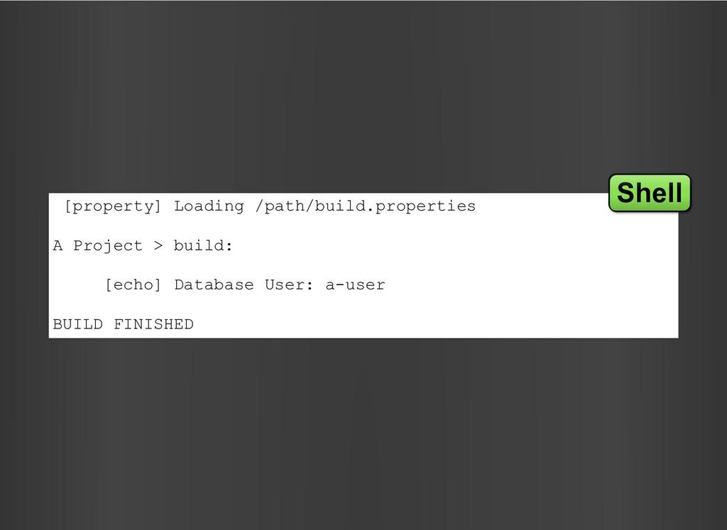[property] Loading /path/build.properties A Pro...