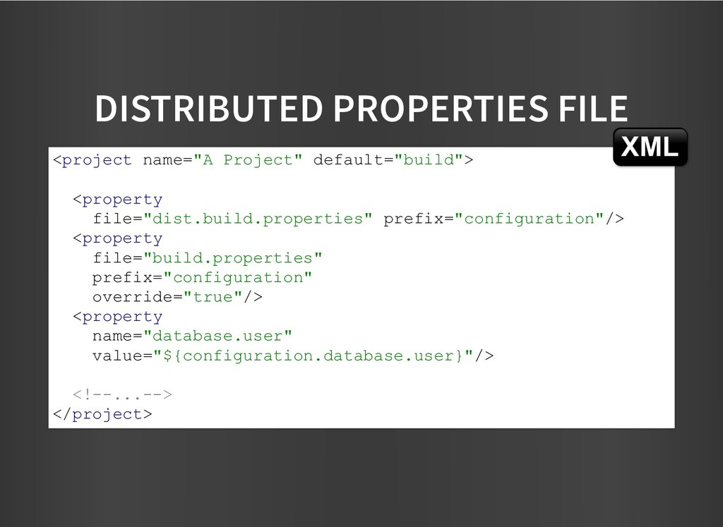 DISTRIBUTED PROPERTIES FILE DISTRIBUTED PROPERT...