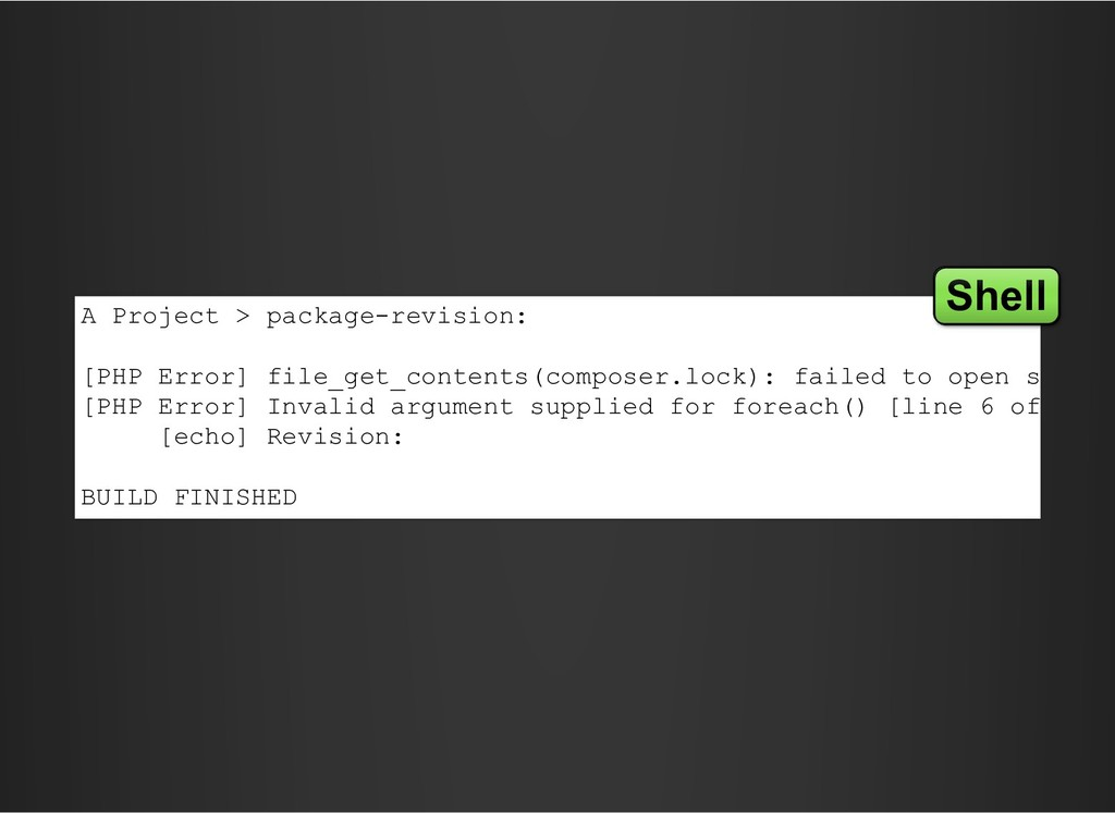 A Project > package-revision: [PHP Error] file_...