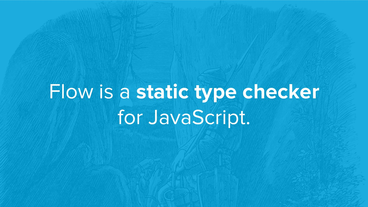 Flow is a static type checker for JavaScript.