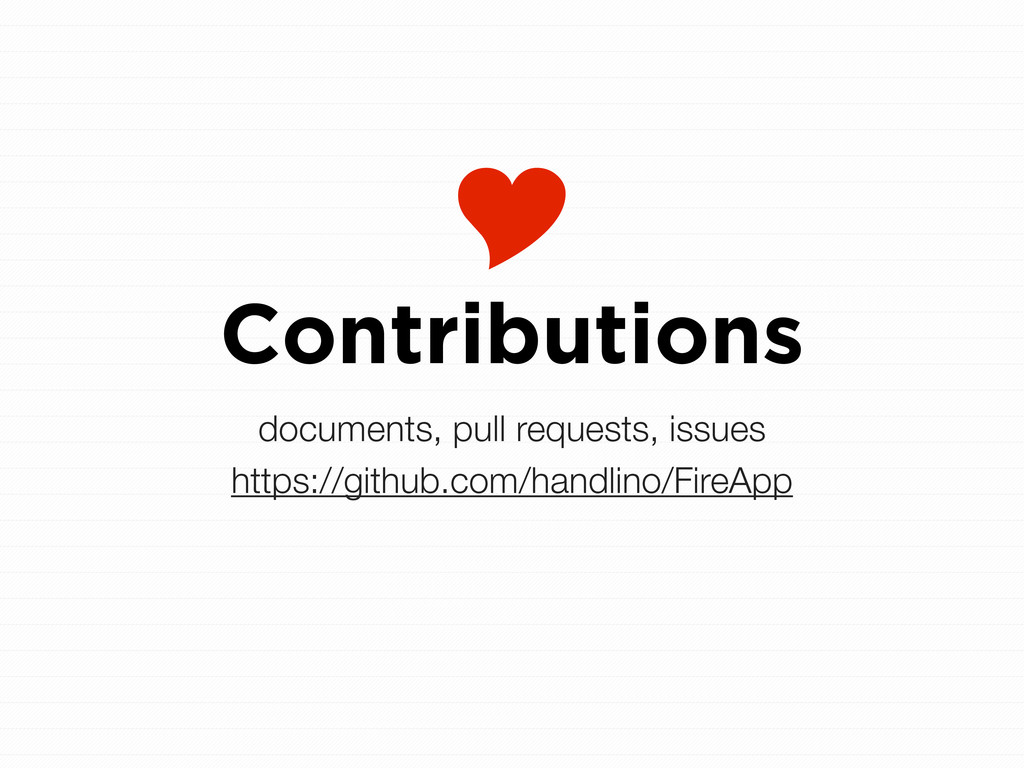  Contributions documents, pull requests, issue...