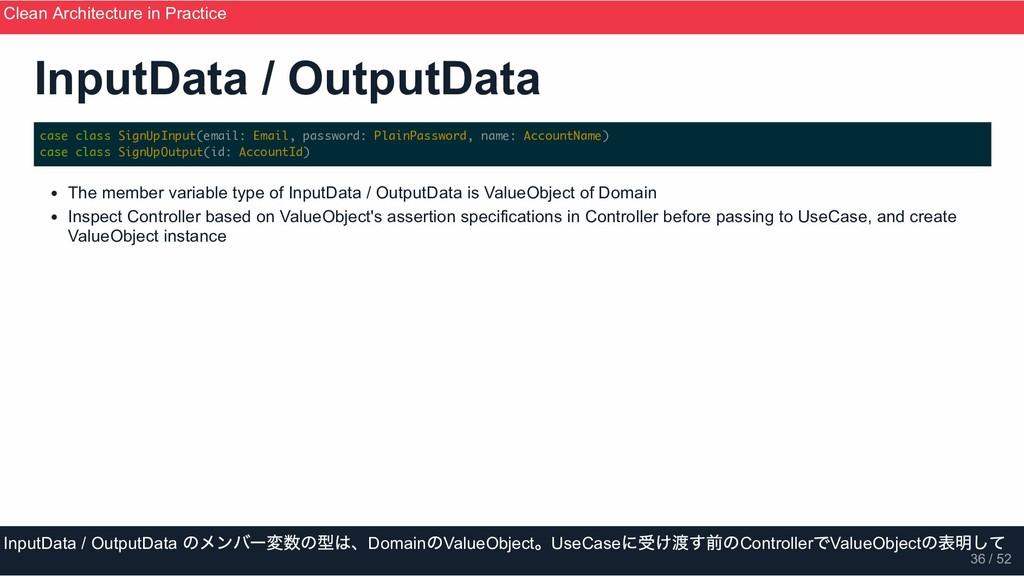 InputData / OutputData case class SignUpInput(e...