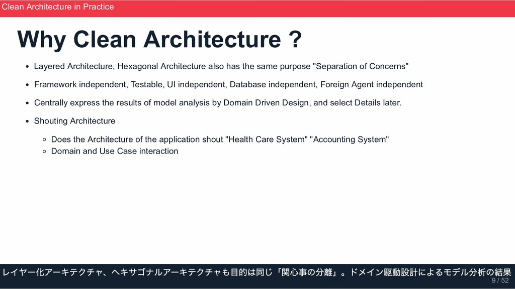 Why Clean Architecture ? Layered Architecture, ...