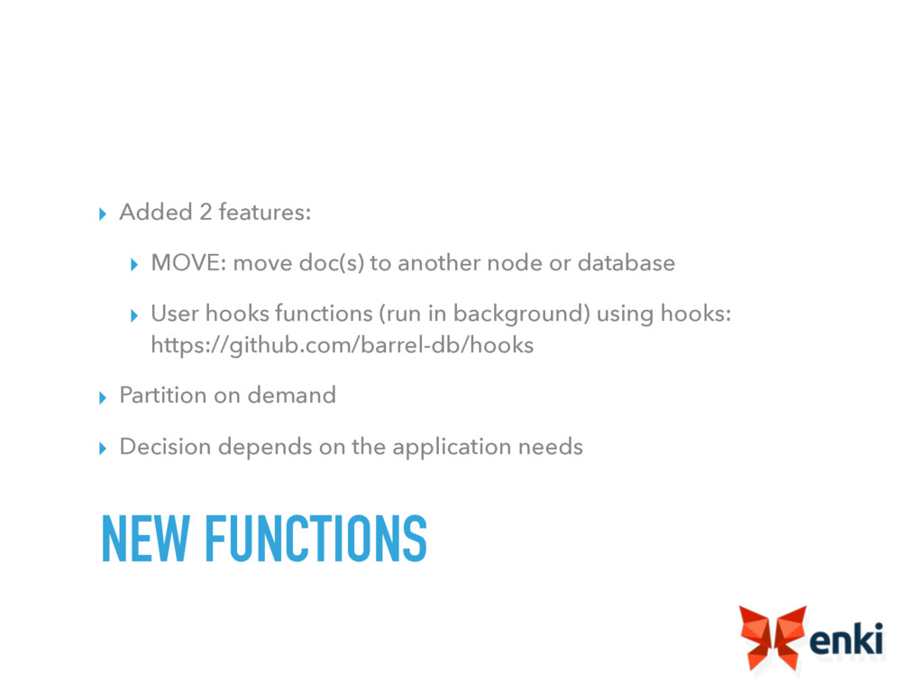 ▸ Added 2 features: ▸ MOVE: move doc(s) to anot...