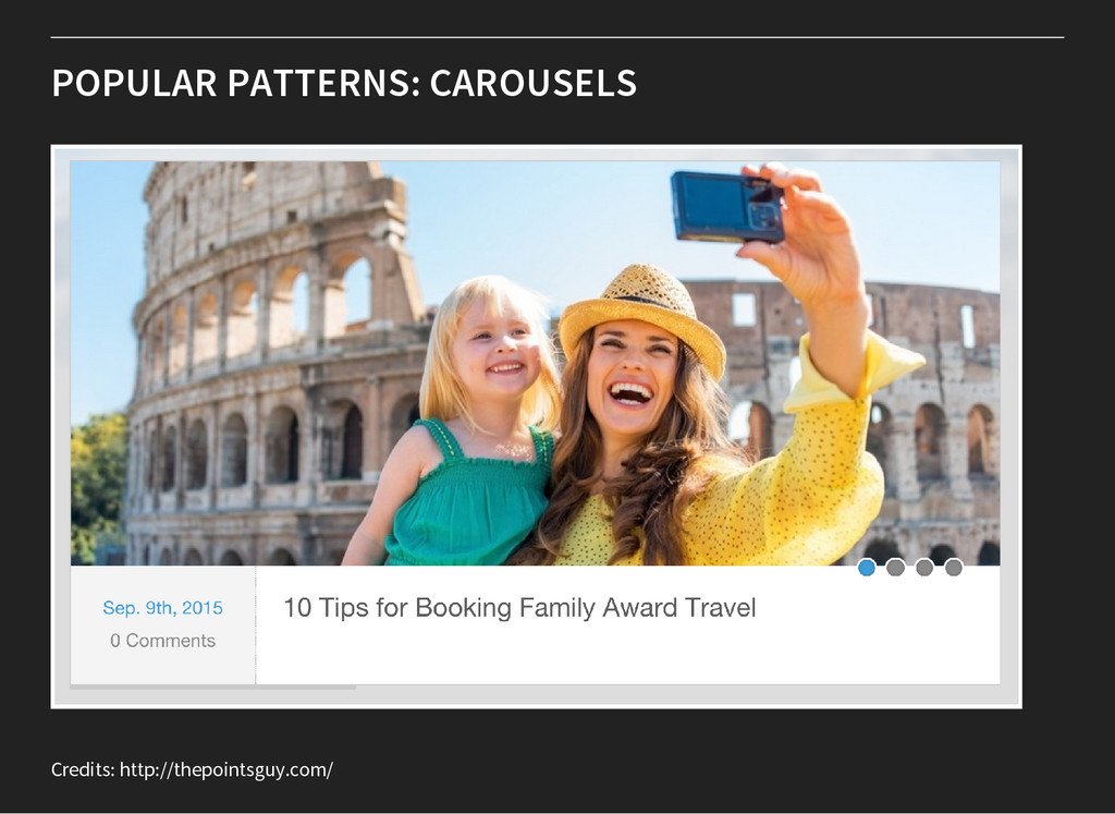 POPULAR PATTERNS: CAROUSELS Credits: http://the...