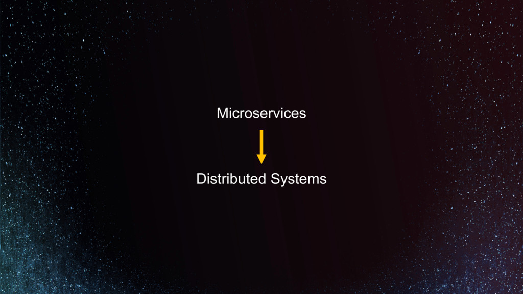 Microservices Distributed Systems