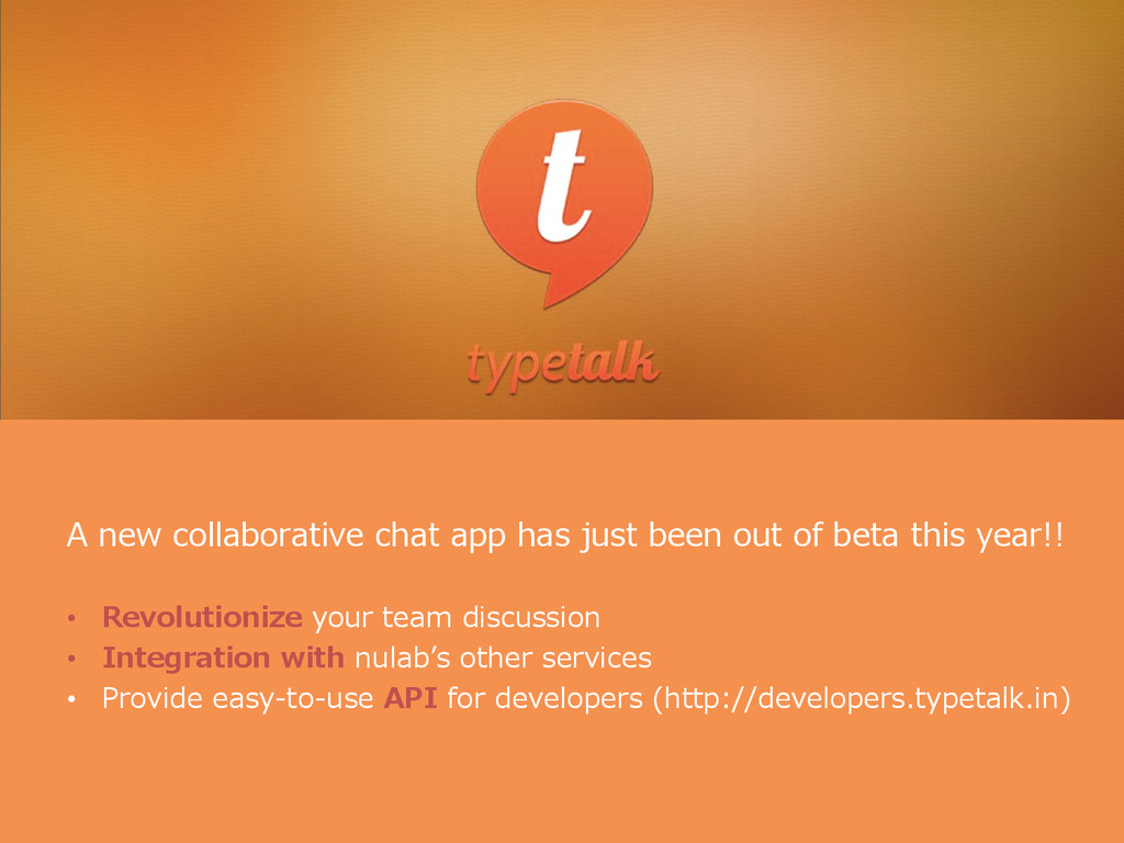 A new collaborative chat app has just be...