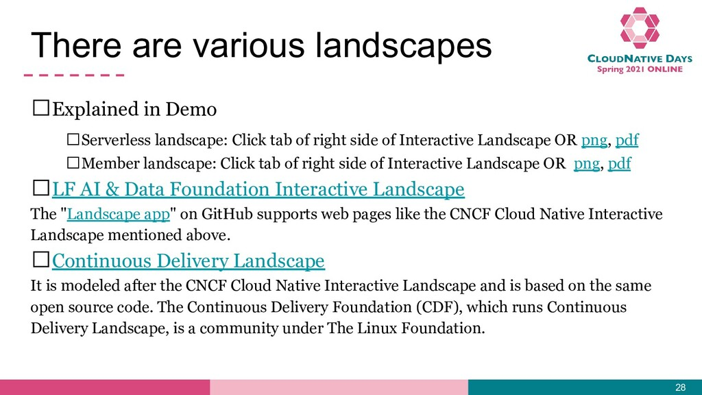 There are various landscapes 𝥷Explained in Demo...