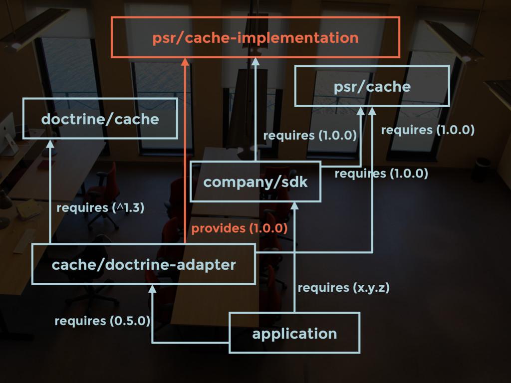 company/sdk requires (1.0.0) psr/cache-implemen...