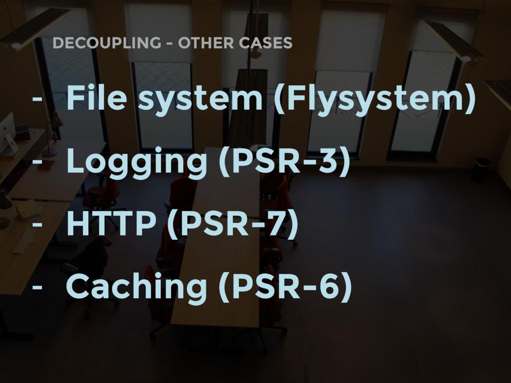 DECOUPLING - OTHER CASES - File system (Flysyst...