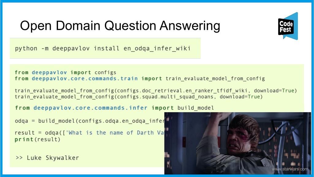 Open Domain Question Answering 43 www.starwars....