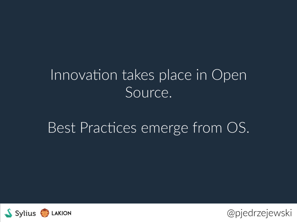 @pjedrzejewski InnovaWon takes place in Open So...