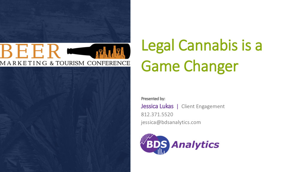 2017 BDS Analytics | CONFIDENTIAL Legal Cannabi...