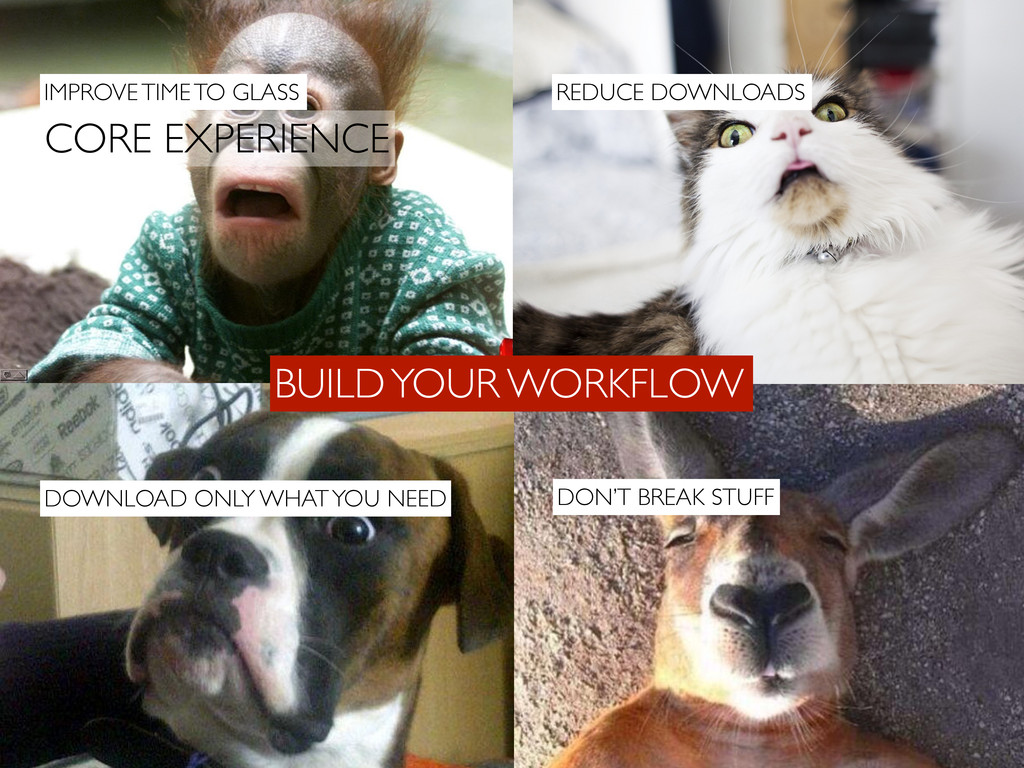 BUILD YOUR WORKFLOW CORE EXPERIENCE DOWNLOAD ON...