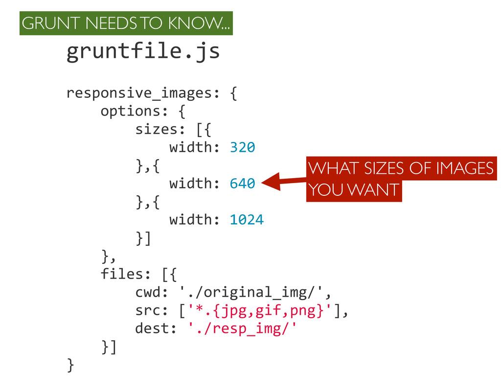 gruntfile.js responsive_images: {   ...