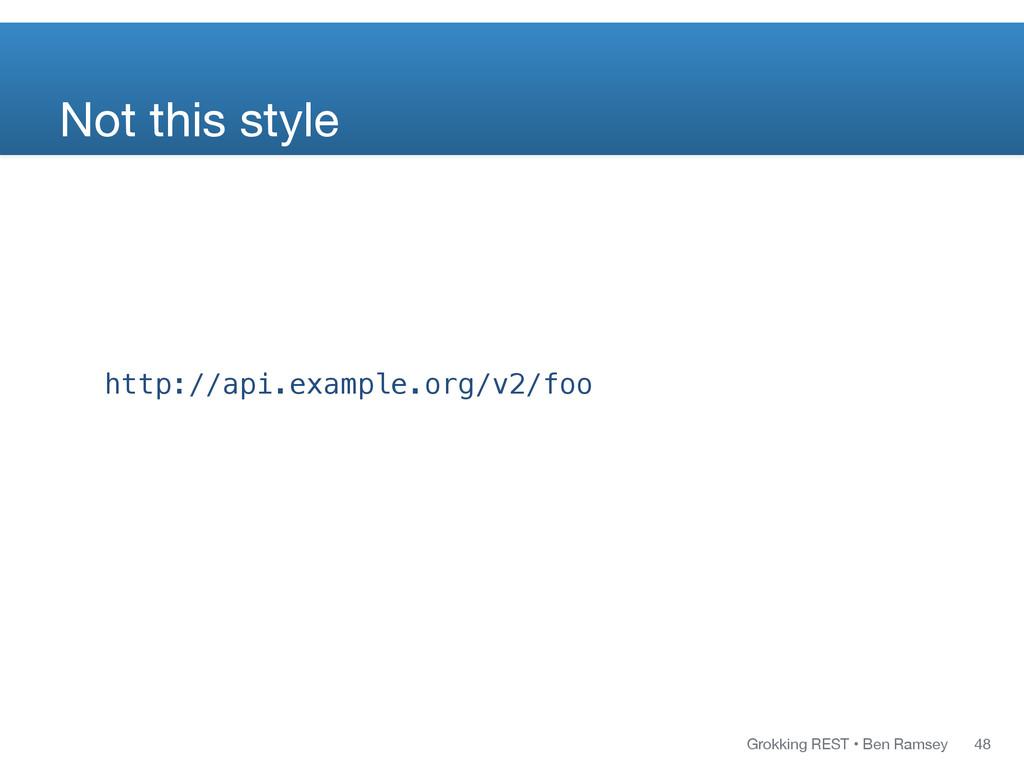 Grokking REST • Ben Ramsey http://api.example.o...