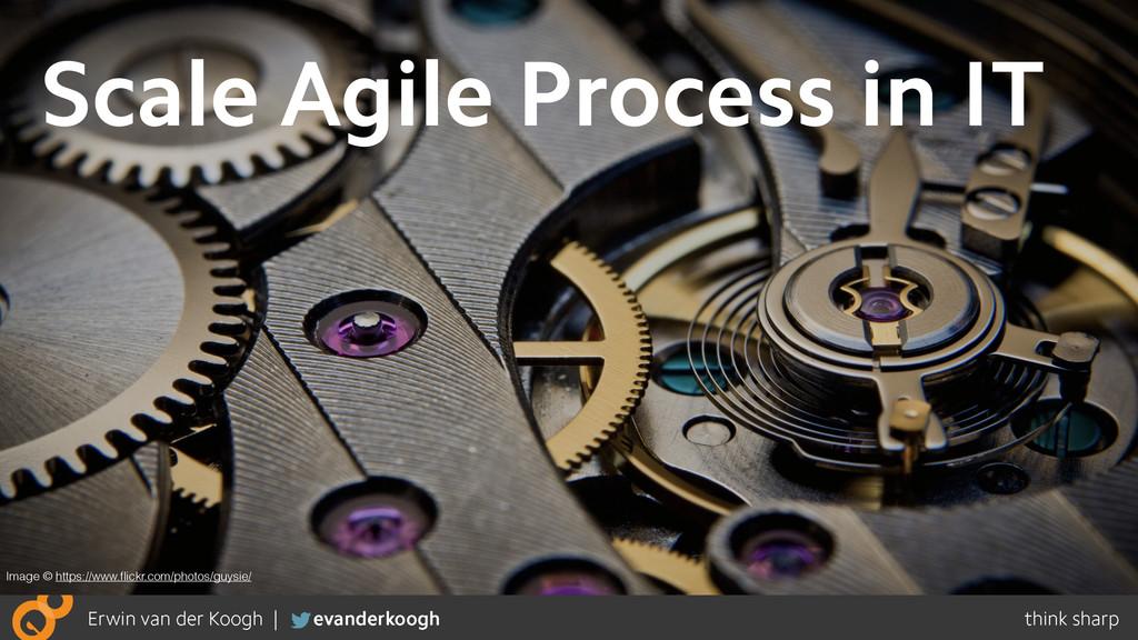 Scale Agile Process in IT Image © https://www.fl...
