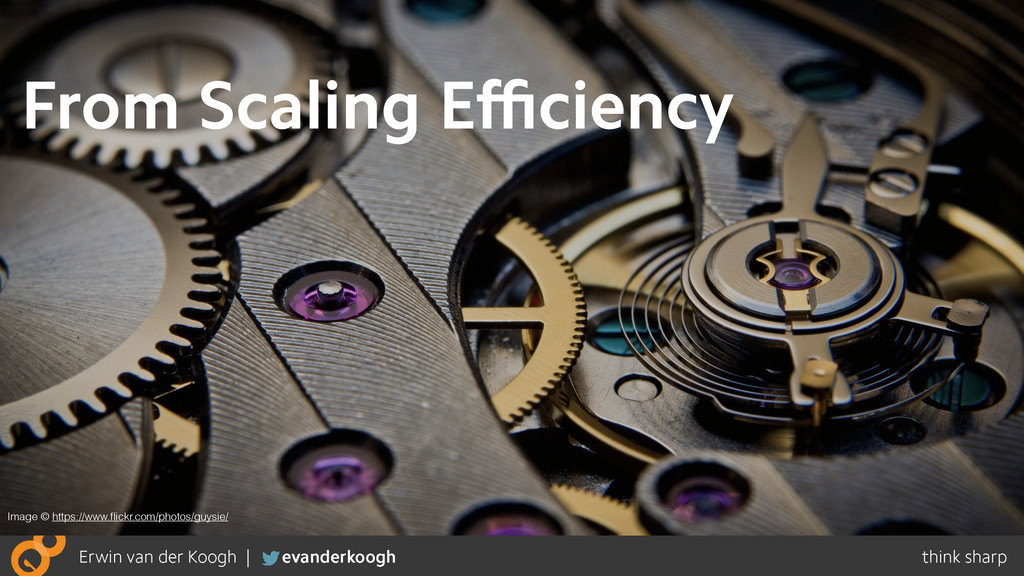From Scaling Efficiency Image © https://www.flickr...