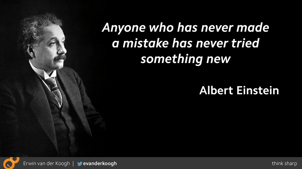 Anyone who has never made a mistake has never t...