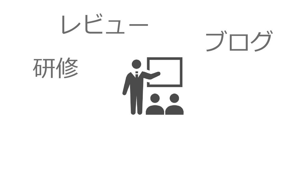 研修 レビュー ブログ
