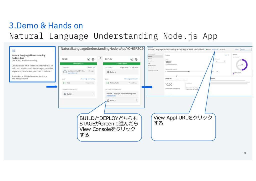 3.Demo & Hands on Natural Language Understandin...