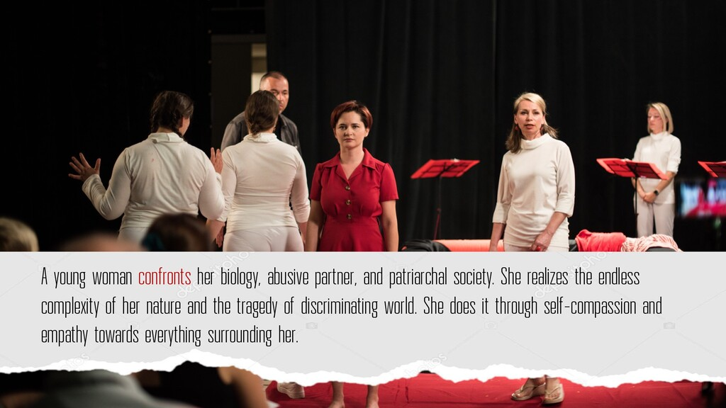 A young woman confronts her biology, abusive pa...