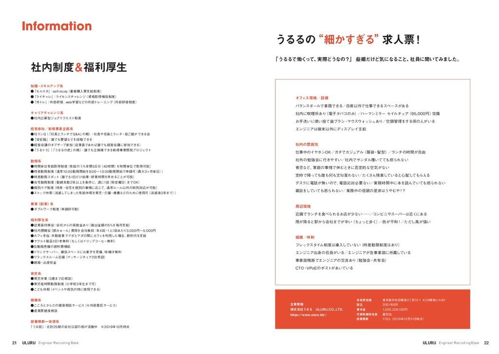 "22 ULURU Engineer Recruiting Book うるるの ""細かすぎる"" ..."