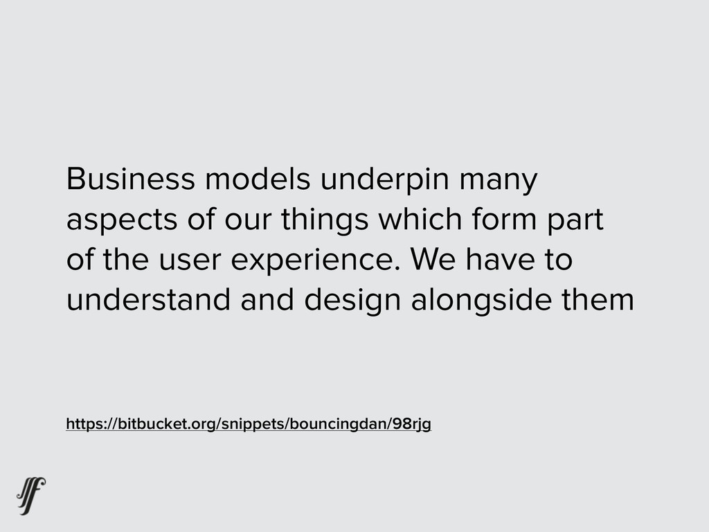 Business models underpin many aspects of our th...