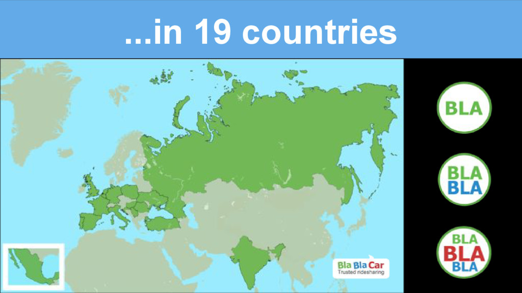 ...in 19 countries