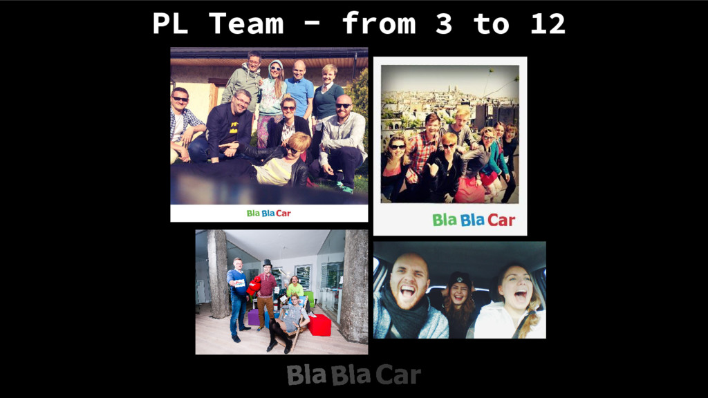 PL Team - from 3 to 12