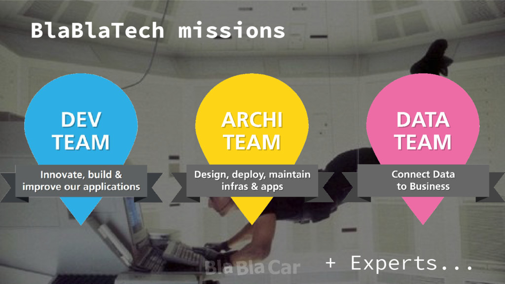 BlaBlaTech missions + Experts...
